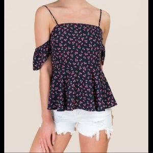 Cute Summer Peplum Top!!!